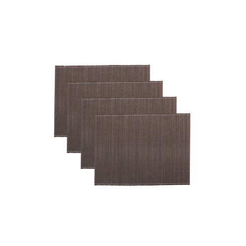 Set of 4 Bamboo Placemats