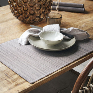 Set of 4 Bamboo Placemats rolled up