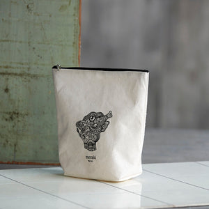Elephant Print Toiletries Bag