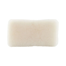 Load image into Gallery viewer, White Konjac Body Sponge cutout
