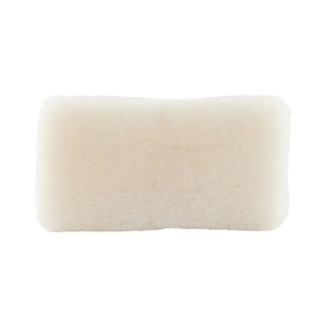 White Konjac Body Sponge cutout