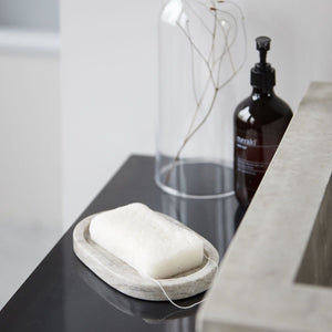 White Konjac Body Sponge closeup