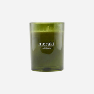 scented soy candle earthbound