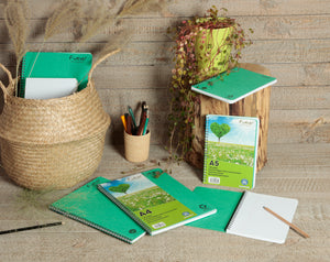 Recycled Paper Notebook A5 collection