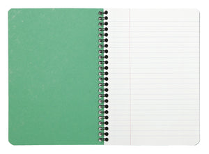 Recycled Paper Notebook A5 inside