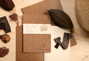 Sustainable Cocoa Notebook A4 Collection