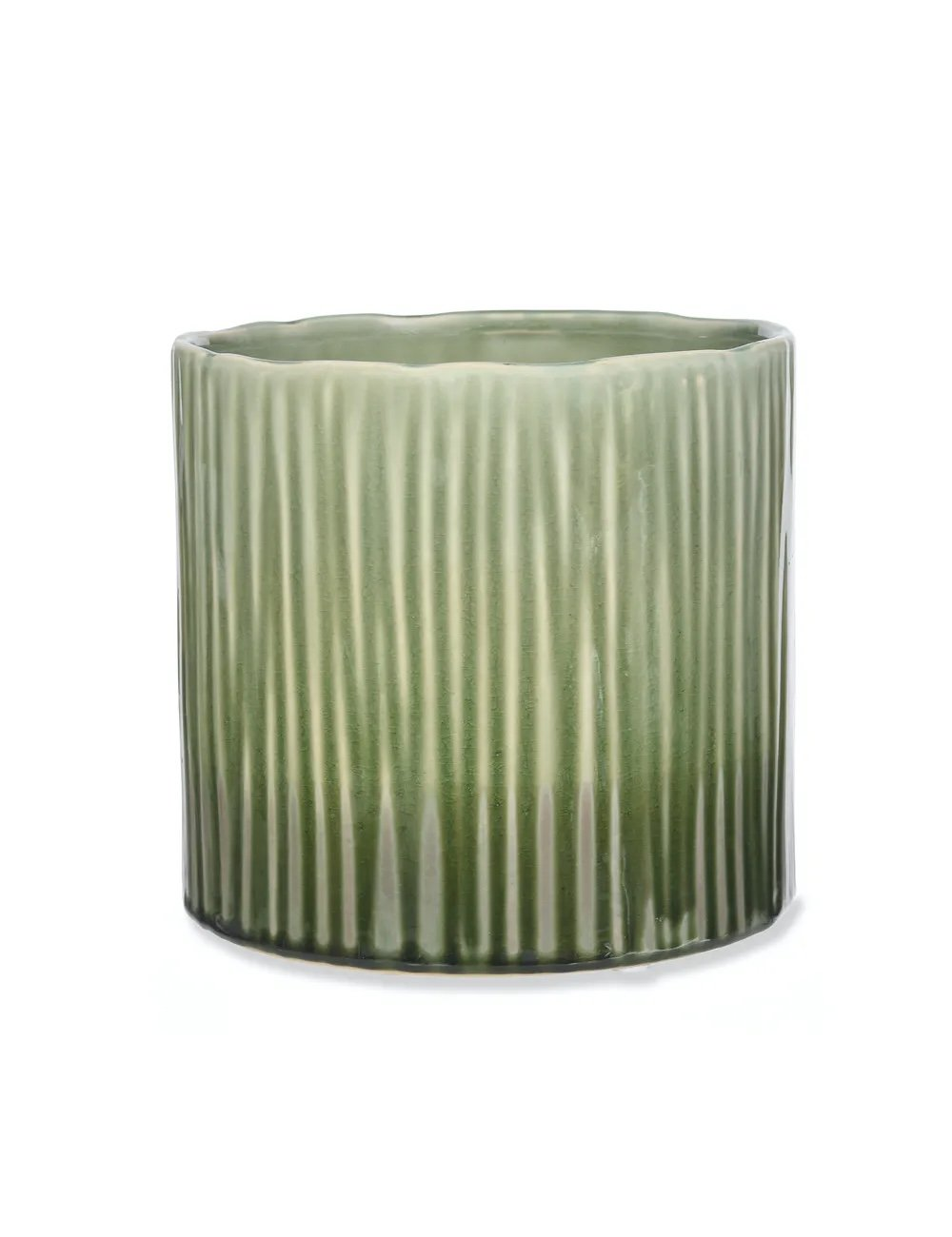 Large Ceramic Linear Plant Pot