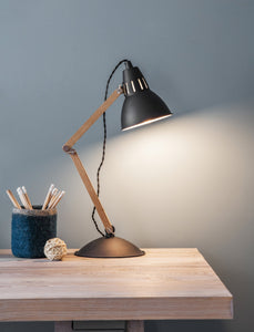 Carbon Table Lamp