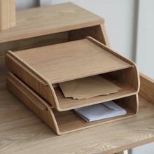 Load image into Gallery viewer, Ash Stacking Desk Organiser