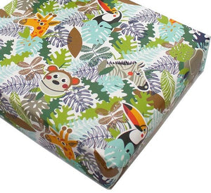 Recycled Wrapping Paper Children's Jungle Animals