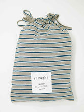 Load image into Gallery viewer, Stripy Hemp Organic Cotton Jersey Pyjama Set Bag