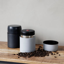 Load image into Gallery viewer, Light Grey Thermos Food Flask