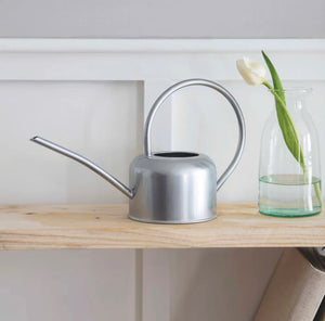 Watering Can 1.1l Galvanised Steel