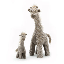 Load image into Gallery viewer, Jellycat Joey Giraffe small and large