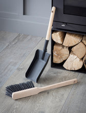 Load image into Gallery viewer, Steel Fireside Dustpan and Brush