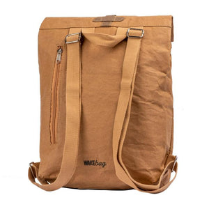 Brown Waterproof Paper Rucksack
