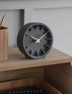 Desk Clock - Polyresin