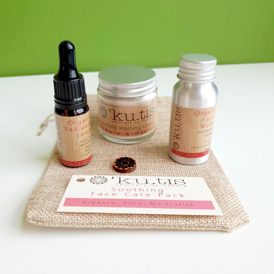 Daily Face Care Pack Soothing Rose