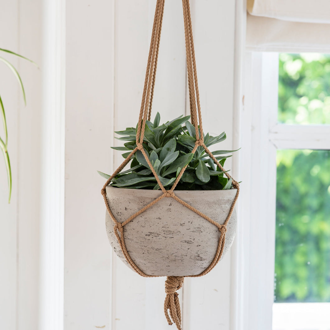 Cement Hanging Pot Stone