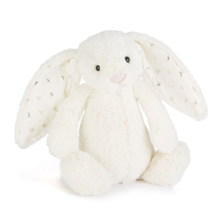 Jellycat Bashful Twinkle Bunny White Medium