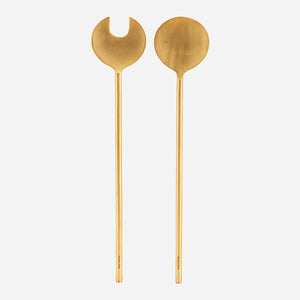 Brass Salad Servers