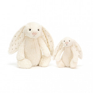 Jellycat Bashful Twinkle Bunny White Medium both sizes