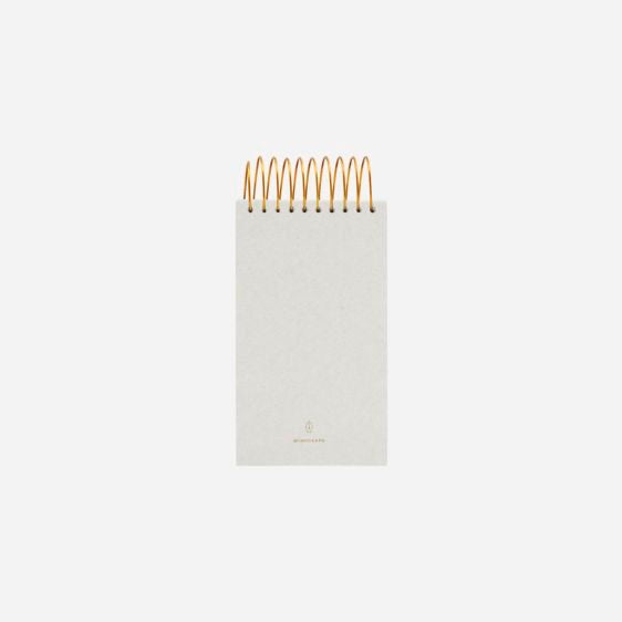 Grey Gold Notepad