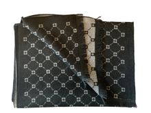 Load image into Gallery viewer, Black & White Constellation Bamboo Scarf