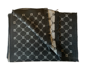 Black & White Constellation Bamboo Scarf