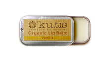 Load image into Gallery viewer, Organic Lip Balm Vanilla