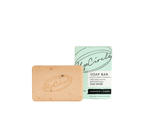 UpCircle Organic Cinnamon & Ginger Chai Soap Bar 100g