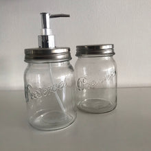 Load image into Gallery viewer, Glass Jar with Dispenser Pump