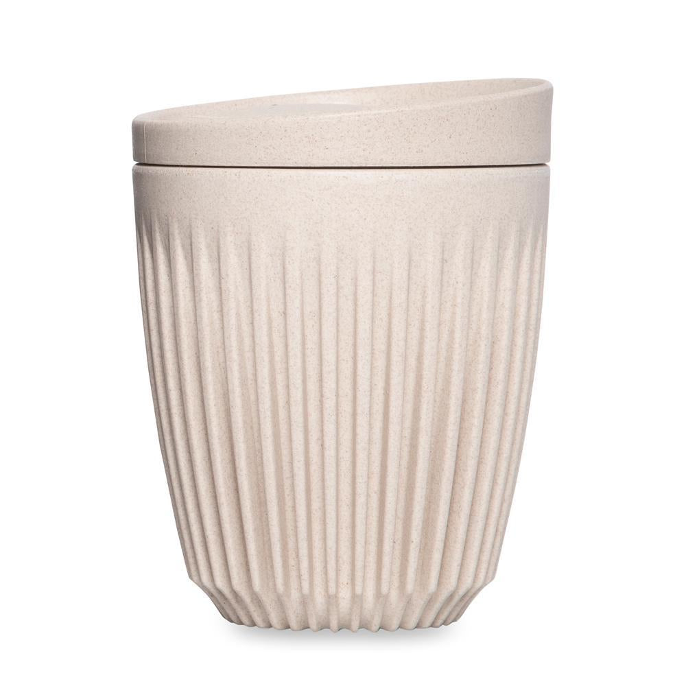 HuskeeCup Reusable Cup 240ml Natural