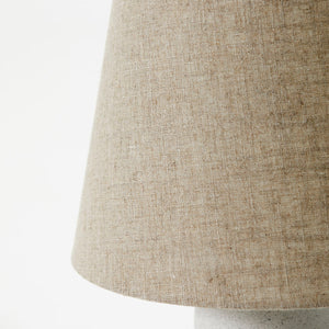 Table Lamp with Concrete Base