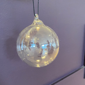 Single Glass Christmas Bauble