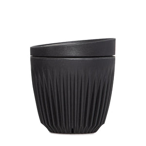HuskeeCup Reusable Cup 180ml Charcoal