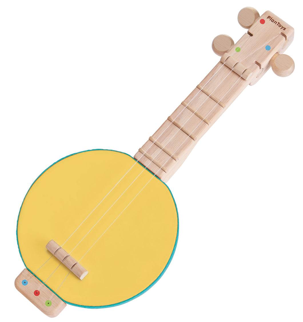 Wooden Toy Banjo