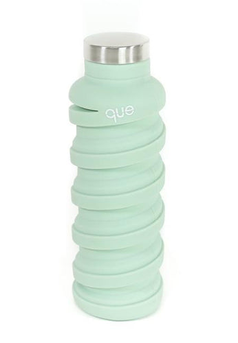 Collapsible Silicone Water Bottle Dusty Sage