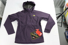 Load image into Gallery viewer, DRYZZLE GOR-TEX Rain Jacket by The North Face WOMEN'S XS NWT PURPLE/YELLOW NWT!
