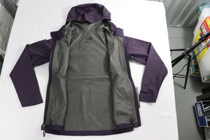 DRYZZLE GOR-TEX Rain Jacket by The North Face WOMEN'S XS NWT PURPLE/YELLOW NWT!