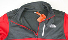 Load image into Gallery viewer, MENS THE NORTH FACE CINDER 1/4 ZIP ATHLETIC PULLOVER/TOP, RED, NWT, FAST SHIP!