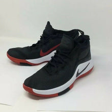 Load image into Gallery viewer, Lebron Witness 2 Mens 10?Worn once Fresh pair Black white red