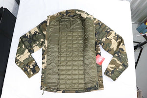 Men's SMALL Thermoball Jacket by The North Face, CAMO CAMOUFLAGE $199 MSRP!!!