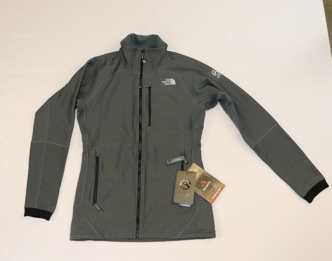 WOMENS THE NORTH FACE SUMMIT SERIES L2 GREY CLIMBING JACKET, TOP NOTCH!  NWT!!!