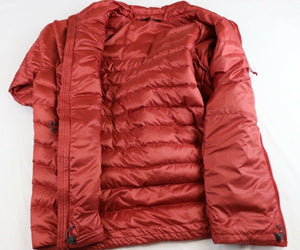 MENS THE NORTH FACE DOWN TREVAIL MOUNTAIN JACKET,RED,LARGE,NWT!!