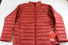 Load image into Gallery viewer, MENS THE NORTH FACE DOWN TREVAIL MOUNTAIN JACKET,RED,LARGE,NWT!!