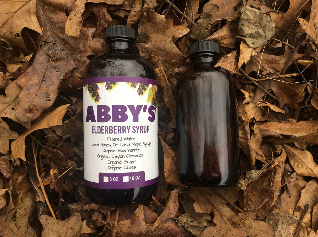 Abby's Elderberry Syrup 16 Oz Bottle
