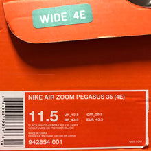 Load image into Gallery viewer, Men's Nike Air Zoom Pegasus 35 11.5W (wide 4E)