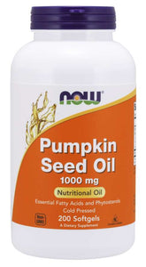 Pumpkin Seed Oil 1000 mg - 200 Softgels