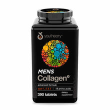 Load image into Gallery viewer, youtheory Mens Collagen Advanced Formula, 390 Tablets